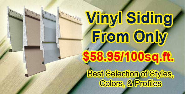 Vinyl and aluminum warehouse for Exterior home solutions ottawa